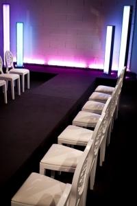 Éclairage d'un événement professionnel par les luminaires BERLIN par AKTUEL