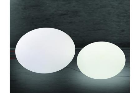 Luminaires GLOBES GALETS par AKTUEL