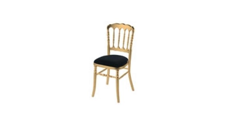 Location Chaise Napoléon Dorée
