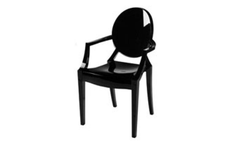 location fauteuils starck louis ghost. Black Bedroom Furniture Sets. Home Design Ideas