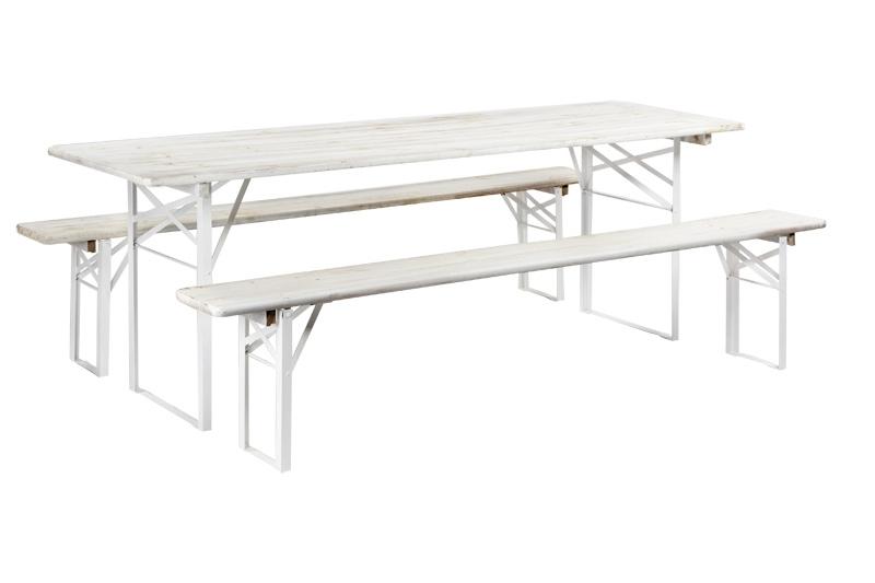 location table et banc pyla. Black Bedroom Furniture Sets. Home Design Ideas
