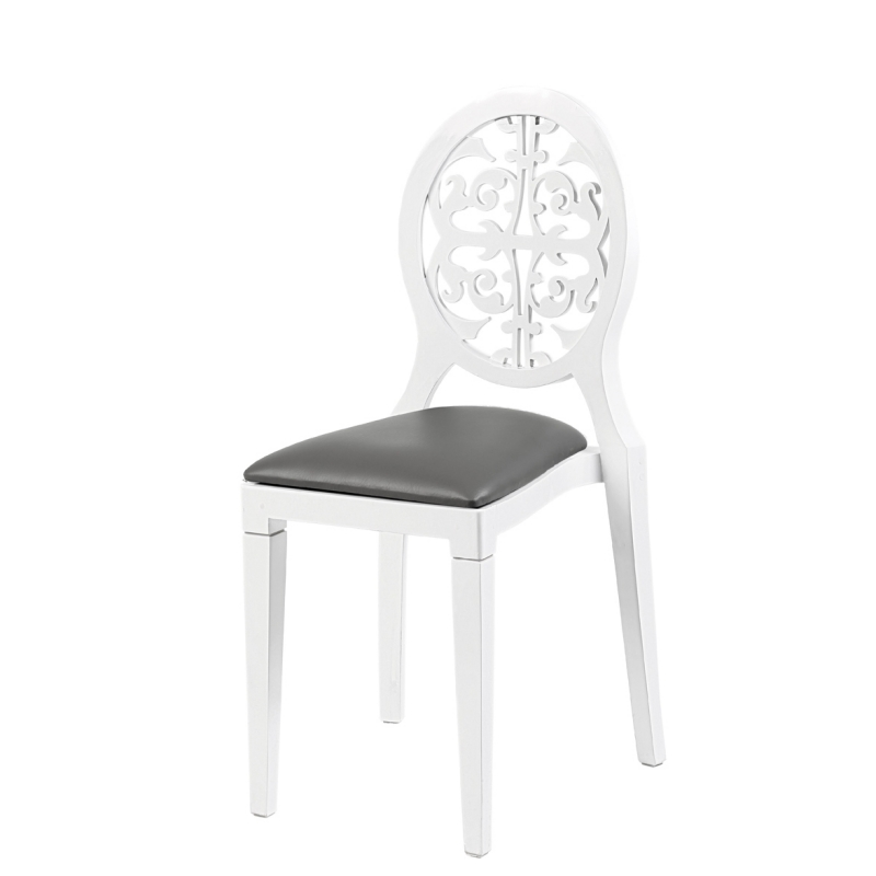 Location chaise arabesk for Chaise blanche
