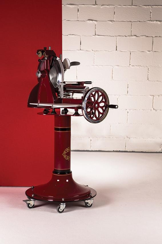 Location trancheuse manuelle rosace - Machine a couper le jambon manuelle ...