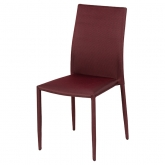Chaise Fabrik - rouge
