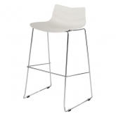 Tabouret Leaf - white