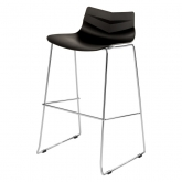 Tabouret Leaf - black