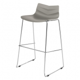 Tabouret Leaf - grey