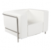 Fauteuil Steel - white