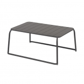 Table basse XL Moli - gris anthracite