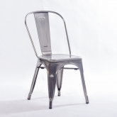 Chaise Gunmetal