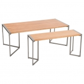 Tables Grog rectangles - H74cm
