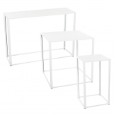 Tables Kadra H105 - blanc