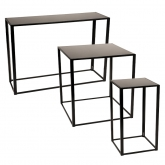 Tables Kadra H105 - noir