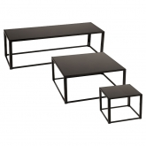 Tables Kadra H45 - noir