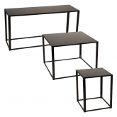 Tables Kadra H73 - noir