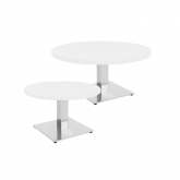 Tables basses STAN rondes - blanc