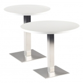 Tables STAN ronde - blanc
