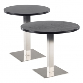 Tables STAN ronde - noir