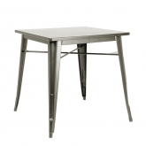 Table gun metal quatro