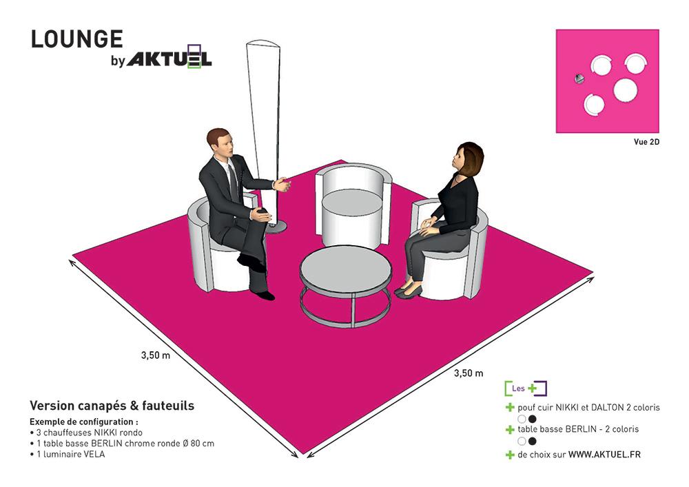 Aktuel nos koncepts pour le lounge - Deco lounge epure ...